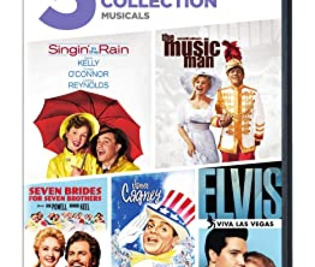 Singin In The Rain The Music Man Seven Brides For Seven Brothers