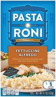 Pasta Roni Fettuccine Alfredo Mix, 4.67 Ounce
