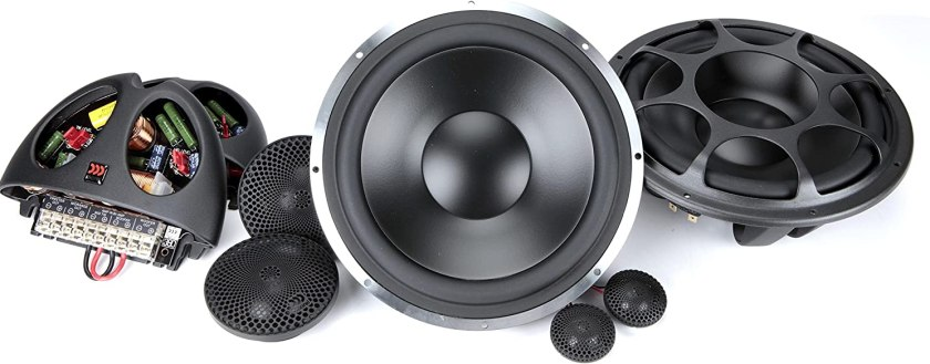 Car audio system without subwoofer
