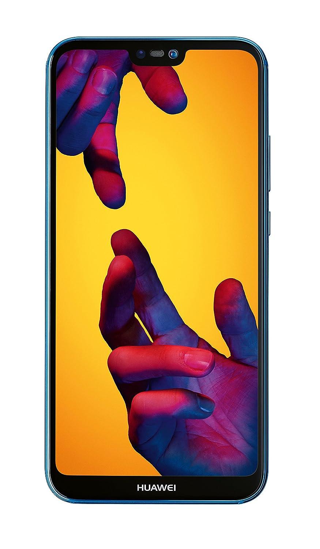 Huawei P20 Lite Smartphone débloqué 4G (5,84 pouces - 64 Go/4 Go - Double Nano-SIM - Android) Bleu [Version européenne]