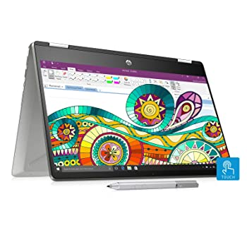 HP Pavilion x360 Core i3 8th Gen 14-inch Touchscreen 2-in-1 Thin and Light Laptop