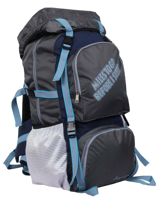 Rocky Polyester Travel Bag 60 Lt Grey Weekend Backpack Bag