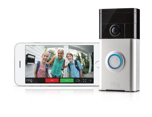Ring Video Doorbell avec la vision smartphone en direct