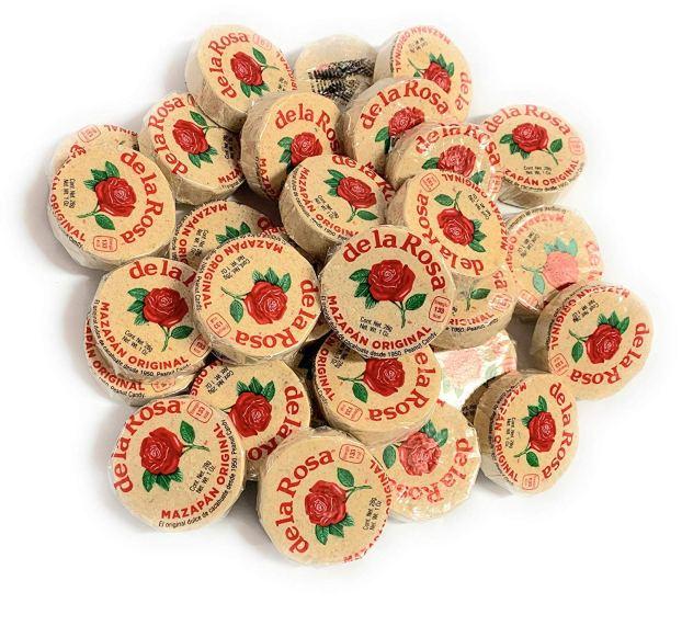 De La Rosa Marzipan Peanut Candy