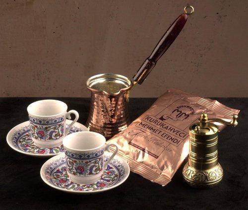 Confezione regalo caffè turco (49,90 Euro su Amazon.it)