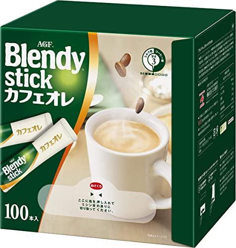 AGF ブレンディ スティック カフェオレ 100本 【 スティックコーヒー 】
