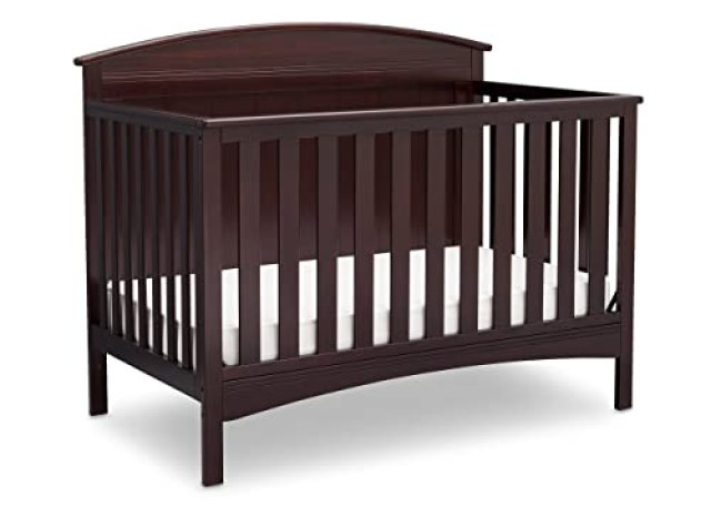 Delta Children Archer Solid Panel 4-in-1 Convertible Baby Crib