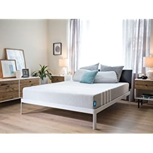 Leesa Mattress, Queen, 10inch Cooling Avena and Contouring Memory Foam Mattress, Supportive Multi-Layer with 100 night free trial and 10 year warranty