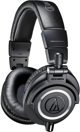 Audio-Technica ATH-M50x Professional Studio Monitor Headphones best electronics gift for men