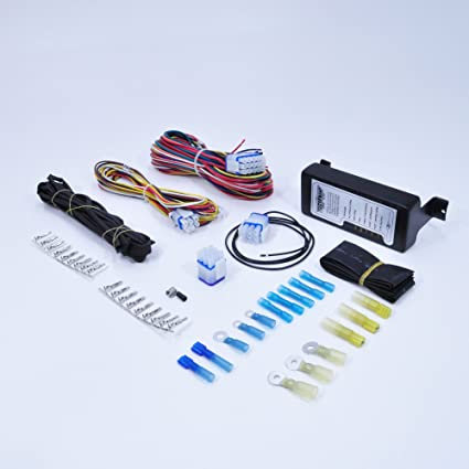 Complete Motorcycle Wiring Harness Kit Electrical System Waterproof With Diagnostic Led S Harley Chopper