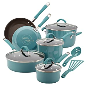 Rachael Ray, 12-Piece, Agave Blue