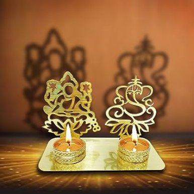 Image result for Diya- Laxmi Ganesh
