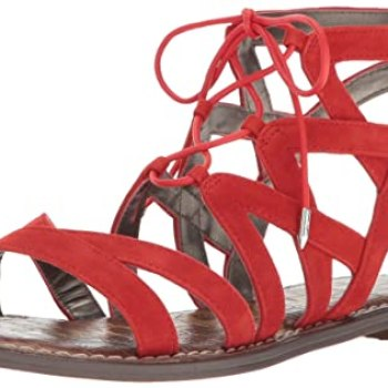 Summer sandals, Women's Sam Edelman eGmma red gladiator sandal, Target