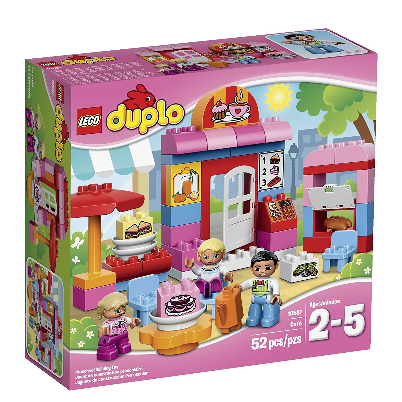 LEGO DUPLO Cafe 10587 Building Toy Set