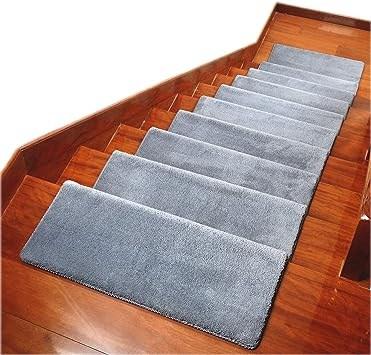 Carpet Stair Treads Anti Slip Stair Mats Made Of Cotton And Fiber | Anti Slip Carpet For Stairs | Slip Resistant | Indoor Stair | Skid Resistant | Self Adhesive | Bullnose Carpet