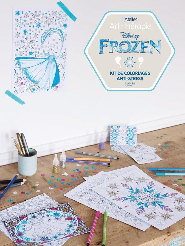 Atelier Art-thérapie Frozen: Amazon.co.uk: Hachette Pratique
