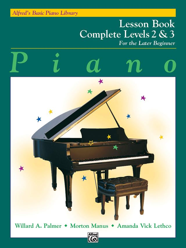 Alfred's Basic Piano Library: Piano Lesson Book, Complete Levels 2 ...