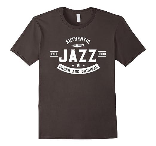 Mens Authentic Jazz - Fresh and Original T-shirt 2XL Asphalt