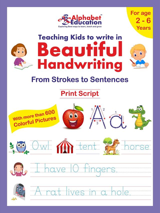 Teaching Kids To Write In Beautiful Handwriting - From Strokes To