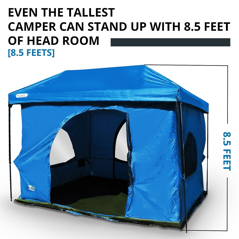 Original-Authentic Standing Room Family Cabin Tent