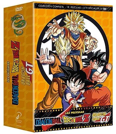 Dragon Ball   Dragon Ball Z Las Películas Colección Completa [DVD]