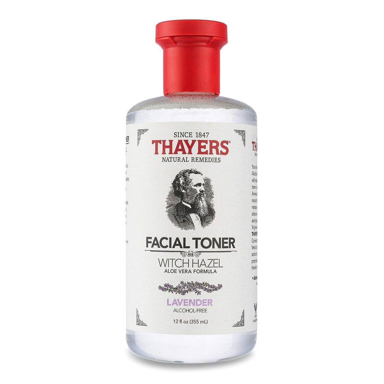 Thayers Alcohol-Free Lavender Witch Hazel Facial Toner with Aloe Vera Formula - 12 oz