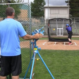 JUGS Light-Flight Machine for Baseball and Softball