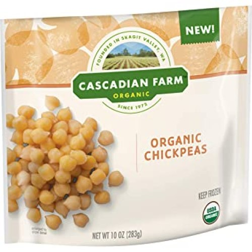 Cascadian Farm Organic Chickpeas, 10 oz