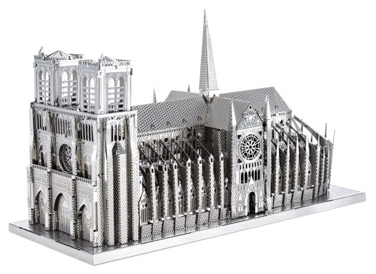 「メタリックなのパズルノートルダム大聖堂」の画像検索結果
