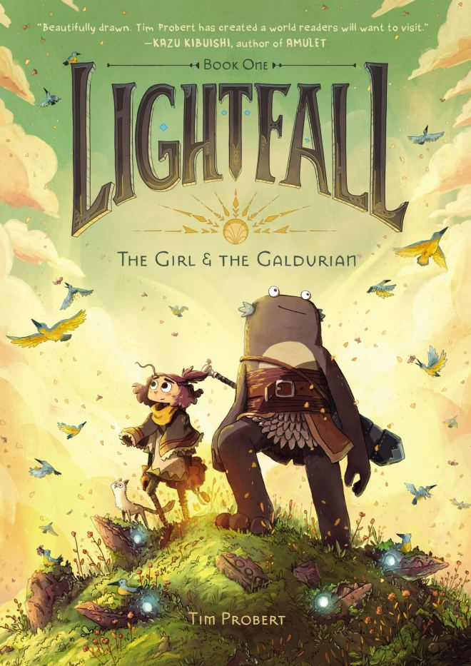 Lightfall: The Girl & the Galdurian: Probert, Tim, Probert, Tim:  9780062990471: Amazon.com: Books