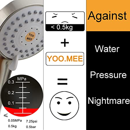 YOO.MEE-High-Pressure-Handheld-Shower-Head-with-Powerful-Shower-Spray