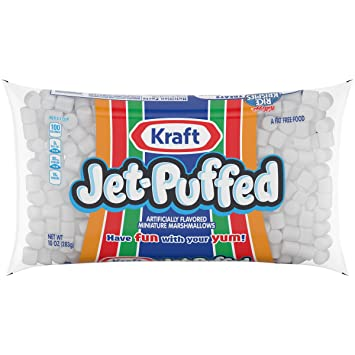 Jet Puffed Mini Marshmallows (10 oz Bag)