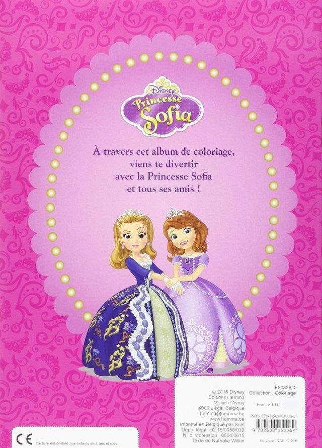 Princesse Sofia Coloriage : Disney Junior: Amazon.de: Bücher
