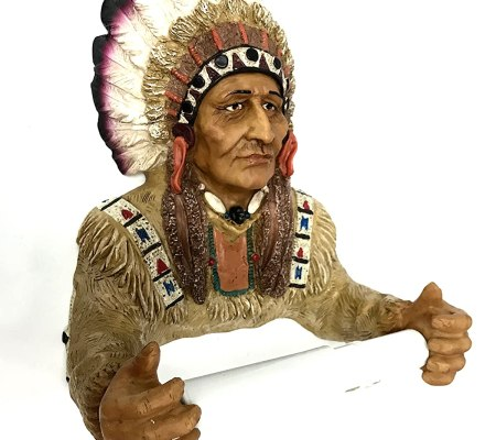Red Indian Fancy Toilet Tissue Holder