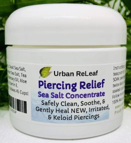 Urban ReLeaf Piercing Relief Sea Salt Concentrate AFTERCARE