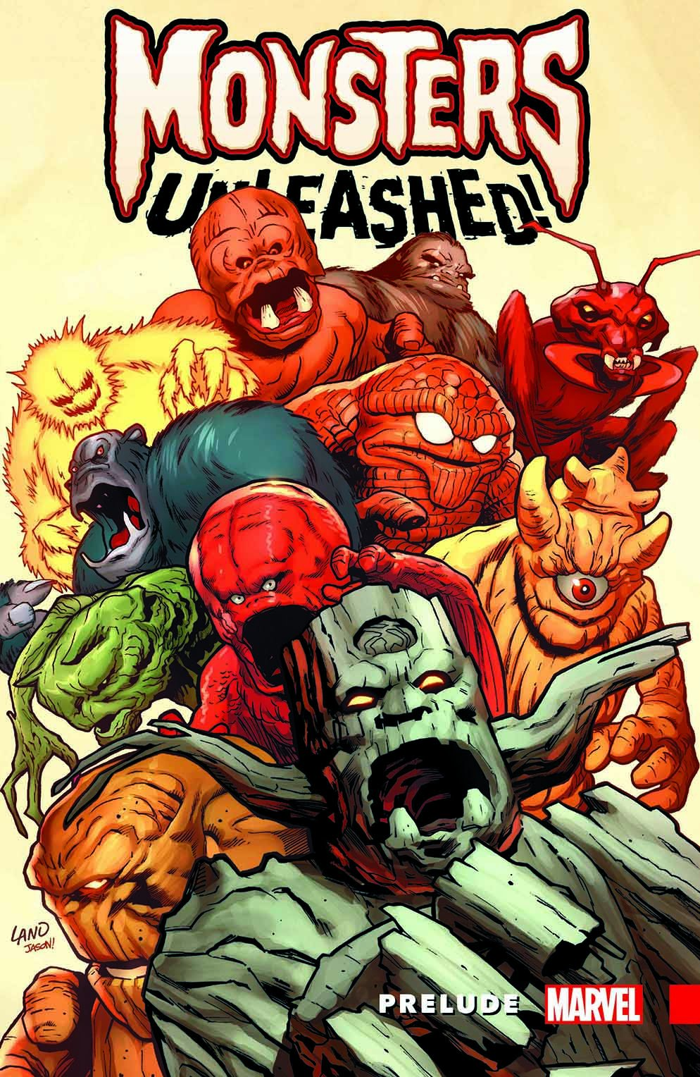 81Nl6%2Bk8KzL MONSTERS UNLEASHED PRELUDE prepares you for unleashing of monsters