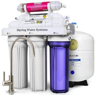 iSpring RCC7AK 6 Reverse Osmosis Drinking Water Filtration System