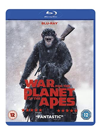 Amazoncom War For The Planet Of The Apes Blu Ray 2017