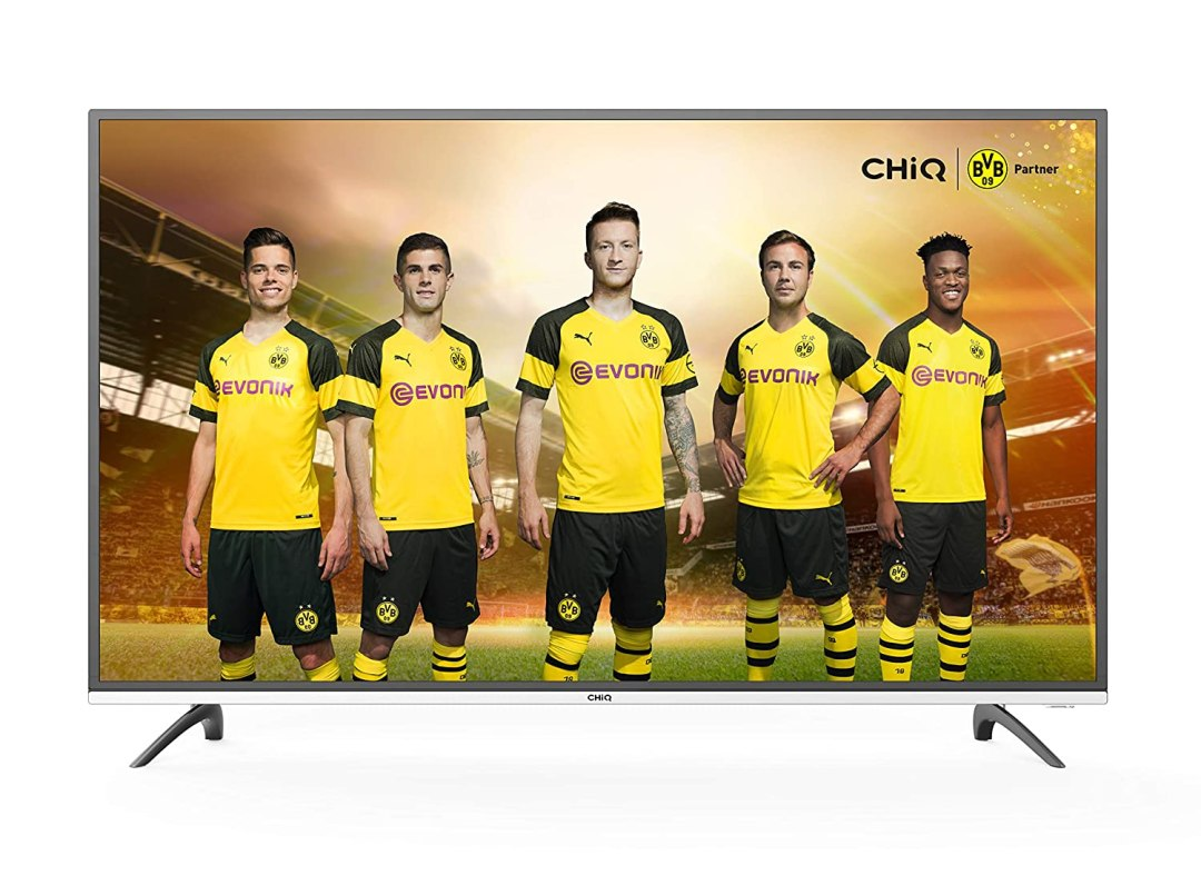 """CHiQ Smart TV U50E6000, 50""""(127cm) Ultra Haute Définition, 4K, 3840x2160, 50 Pouces,Netlix, Youtube, Facebook, Twitter, HDMI, WiFi"""