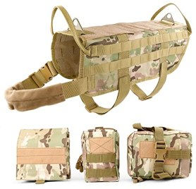Best Tactical Dog Vest