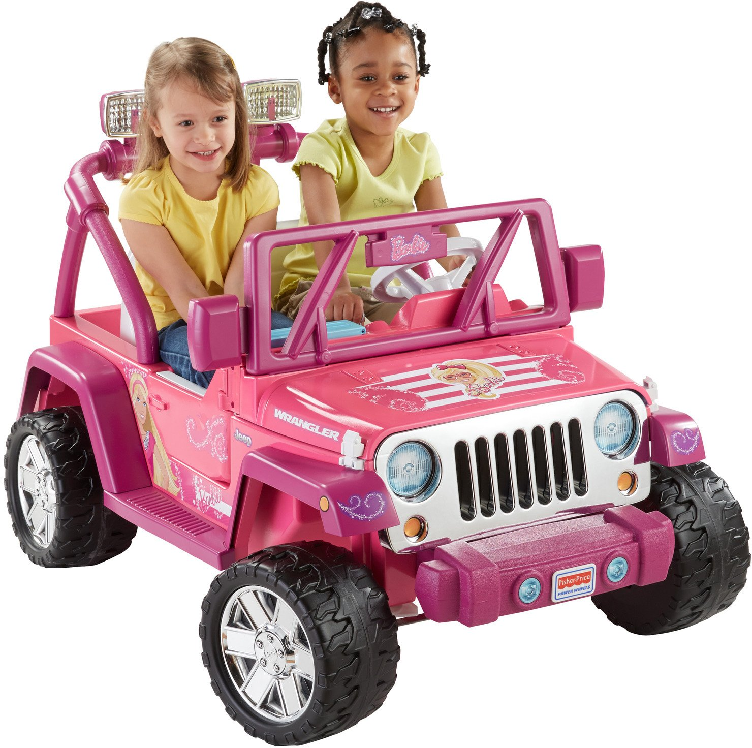 Power Wheels Barbie Deluxe, Jeep Wrangler