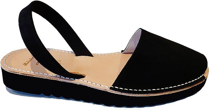 Sandalias Avarcas menorquínas con Plataforma/cuña 2,5 cm, Abarcas, también disponible en otros colores