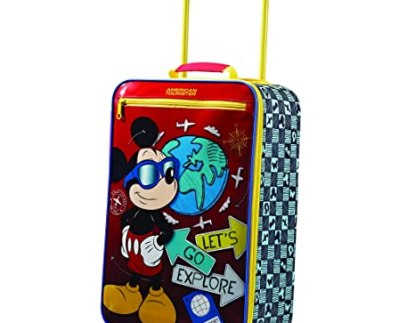 best kids luggage American Tourister Disney Upright Suitcase