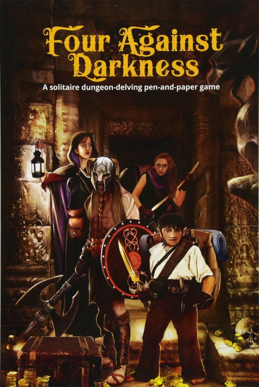 Image result for four against darkness dungeon delve