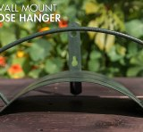 wall mounted hose reel metal