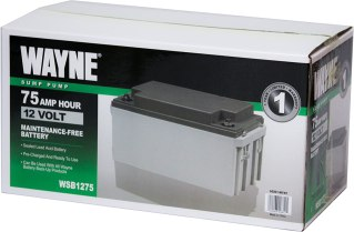 Best affordable AGM Battery - Wayne WSB1275