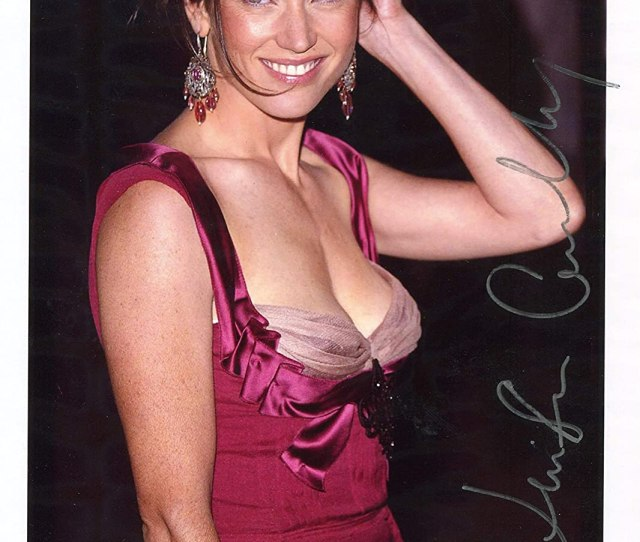 Jennifer Connelly Sexy Low Cut Silver Signed X Photo At