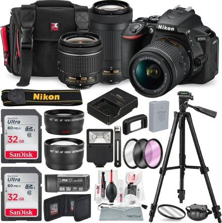 D5600 Camera Bundle