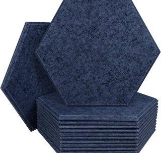 DEKIRU 12 Pack Acoustic Panels Sound Proof Padding