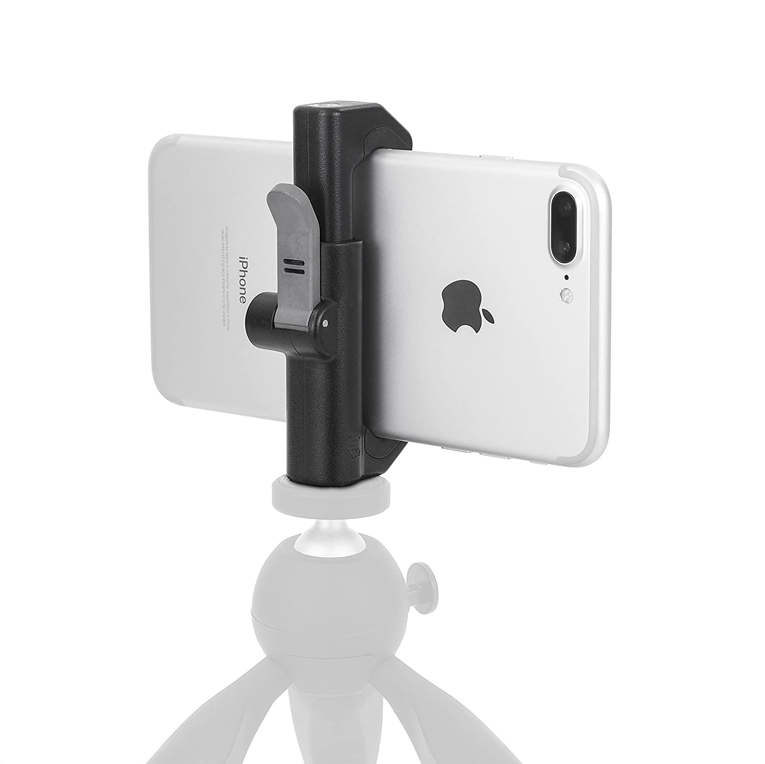 Amazon.com: Glif – Quick Release Tripod Mount We use this mount to attach our smartphones to various tripods for our video footage and mobile live casts.